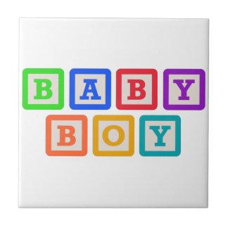 BABY BLOCKS BABY BOY CERAMIC TILES