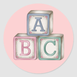 Baby Blocks Stickers
