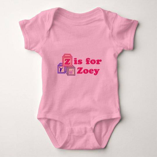 Baby Blocks Zoey Baby Bodysuit