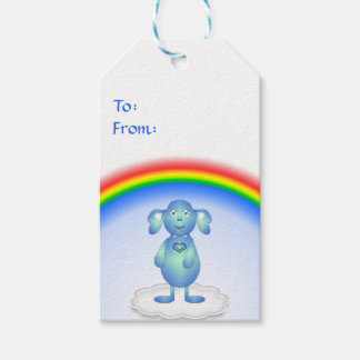 Baby Blu and the Rainbow Gift Tags