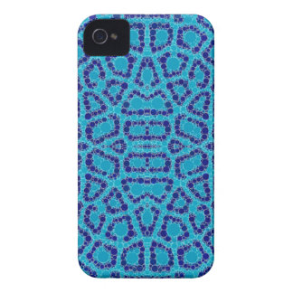 Baby Blue Animal Print Case-Mate iPhone 4 Cases