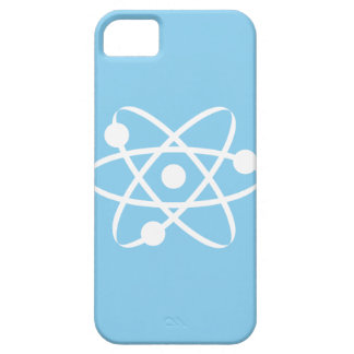Baby Blue Atom iPhone 5 Cover