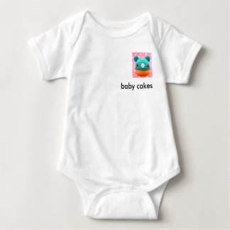 baby blue, baby cakes baby bodysuit