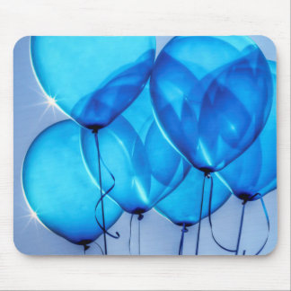 """""""Baby Blue Balloons"""" Mouse Mat"""