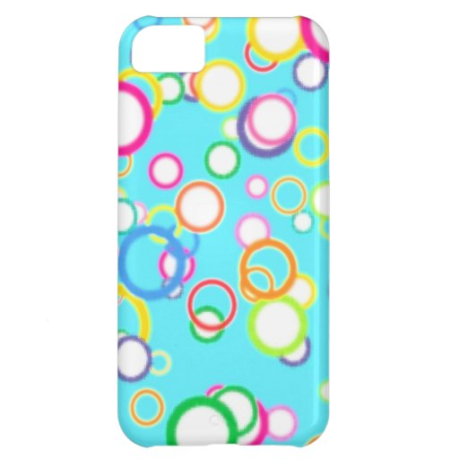 BABY BLUE BATH BUBBLES iPhone 5C COVERS