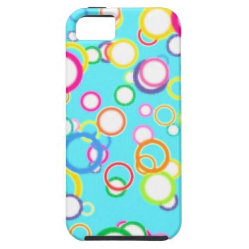 BABY BLUE BATH BUBBLES iPhone 5 COVERS