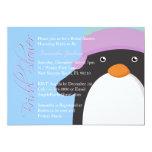 """Baby Blue Bride Bridal Shower Invite 5"""" X 7"""" Invitation Card"""