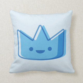 Baby Blue Crown Cushion