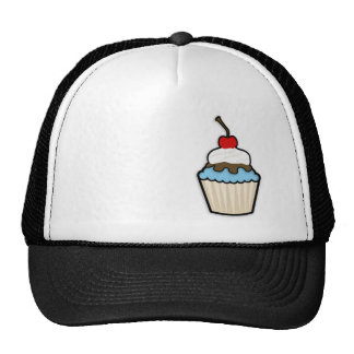 Baby Blue Cupcake Cap