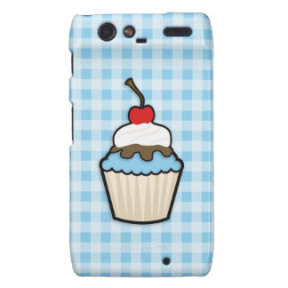 Baby Blue Cupcake Droid RAZR Cover