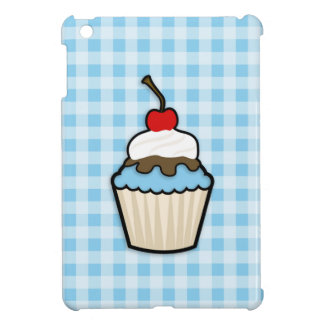 Baby Blue Cupcake iPad Mini Cases