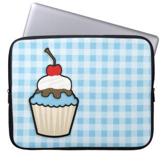 Baby Blue Cupcake Computer Sleeve
