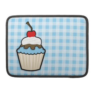 Baby Blue Cupcake MacBook Pro Sleeves