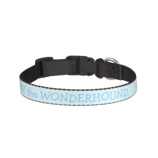 Baby Blue Dog Collar Personalized Pet Collars