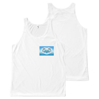 Baby Blue Dolphin Vest