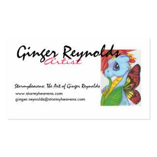 Baby Blue Dragonfly Buisness Card Business Card Templates