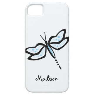 Baby Blue Dragonfly iPhone 5 Case