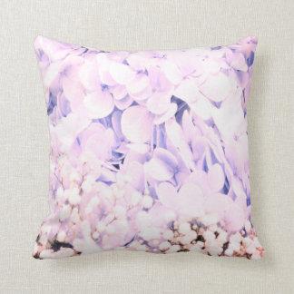 Baby Blue  Hydrangea flowers decor pillow