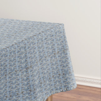 Baby Blue Marble Stone Tablecloth Texture#14-a