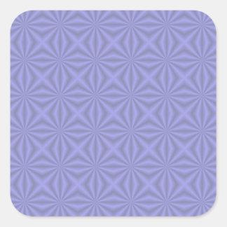 Baby Blue Quilt Pattern Sticker