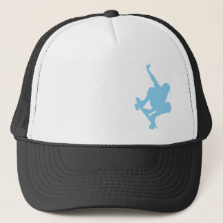 Baby Blue Skater Trucker Hat