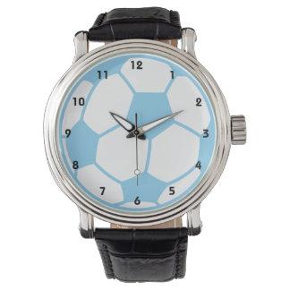Baby Blue Soccer Ball Watch