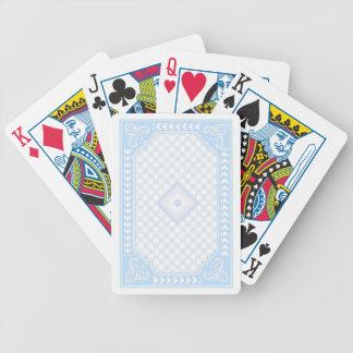 Baby Blue Streamline Poker Deck