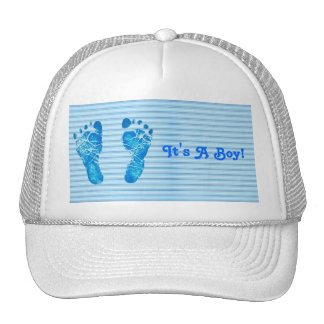 Baby Blue Stripes Cap