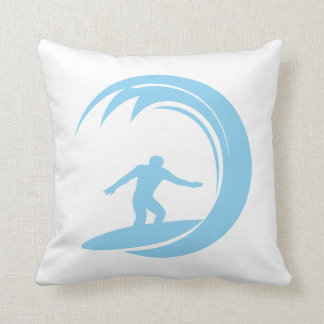 Baby Blue Surfing Cushion