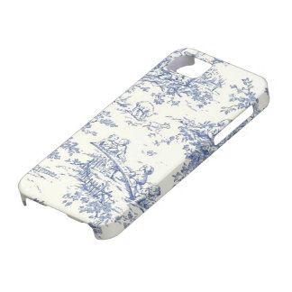 Baby Blue Toille electronic covers Case For The iPhone 5
