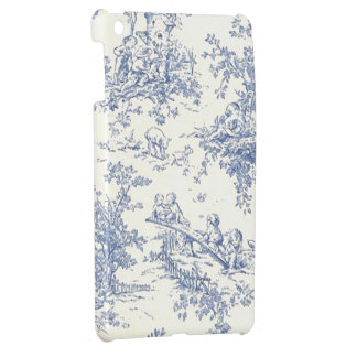 Baby Blue Toille electronic covers iPad Mini Case