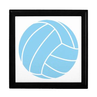 Baby Blue Volleyball Trinket Box
