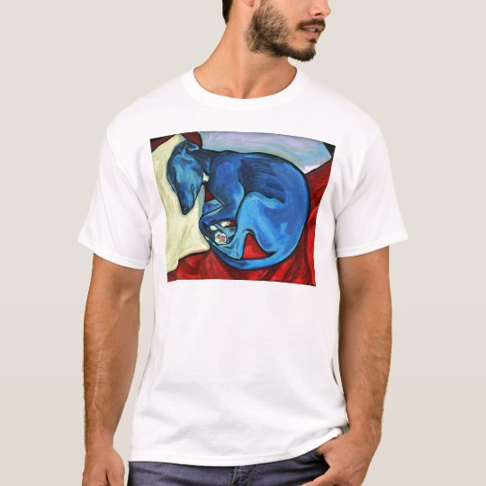 'Baby Blue'  Whippet puppy T-Shirt