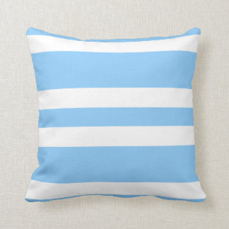 Baby Blue & White Stripe Couch Pillow Gift