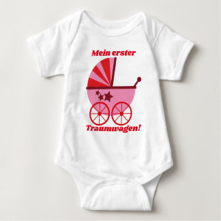 "Baby Body ""my first dream car "" Baby Bodysuit"