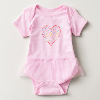 Baby Bodysuit: 99 Names of Allah (Arabic) Baby Bodysuit