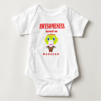 Baby Bodysuit    Awesomeness Turned On By Morocko