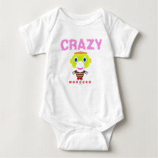 Baby Bodysuit    Crazy By Morocko