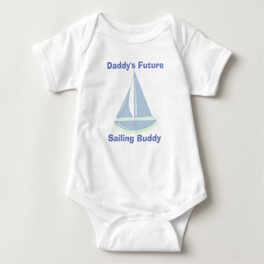 Baby Bodysuit - Daddy's Future Sailing Buddy