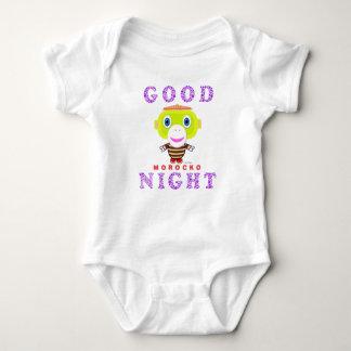 Baby Bodysuit   Good Night By Morocko