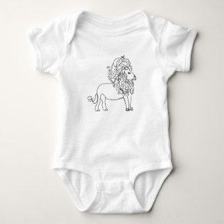 Baby Bodysuit - Lion