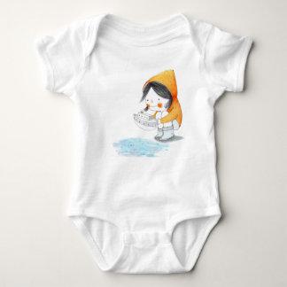 """Baby bodysuit """"Little Boat"""""""