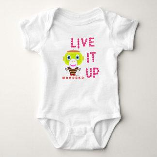 Baby Bodysuit   Live It Up By Morocko