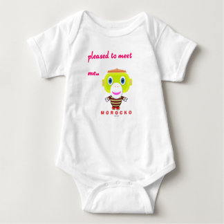 Baby Bodysuit    Pleased To Meet Me By Morocko