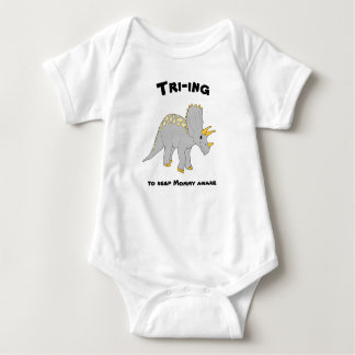 Baby Bodysuit Triceratops