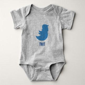 "Baby Bodysuit: Trump Protest ""TWIT"" Baby Bodysuit"