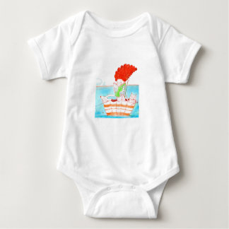 "Baby bodysuit ""umbrella"""