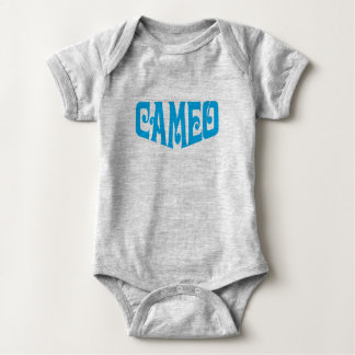 Baby Bodysuit with Cameo logo