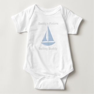 Baby Bodysuit with Daddy's Future Sailing Buddy