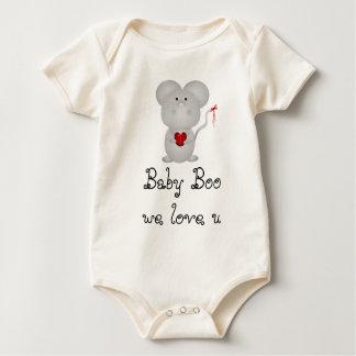 Baby Boo we love u Baby Bodysuit